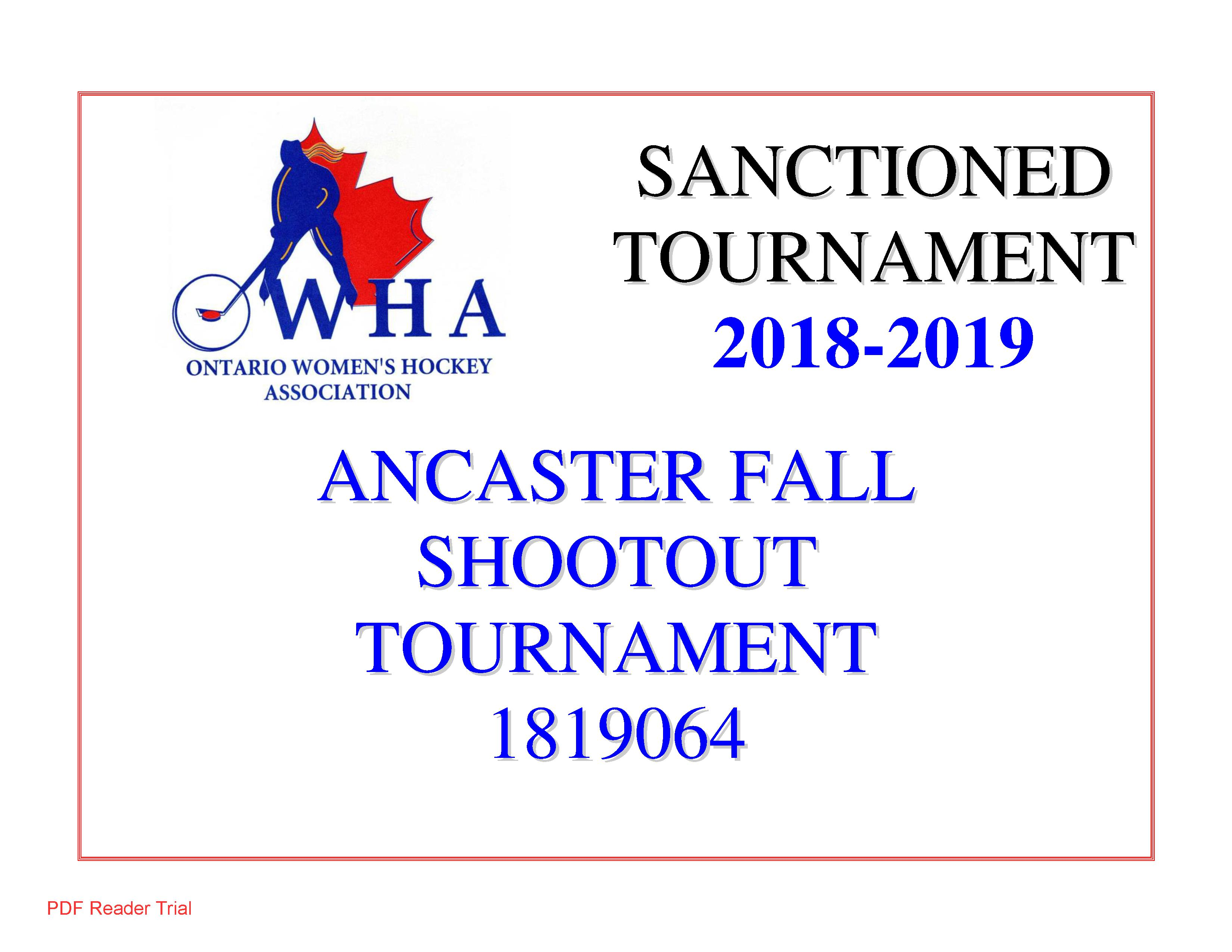 Ancaster Avalanche Girls Hockey Association Website By Ramp
