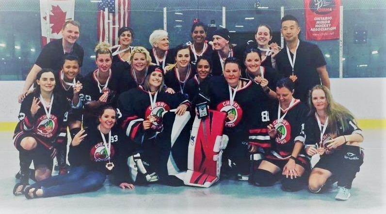 WOMEN'S B NATIONAL BRONZE MEDALIST'S - Cherry Pickers