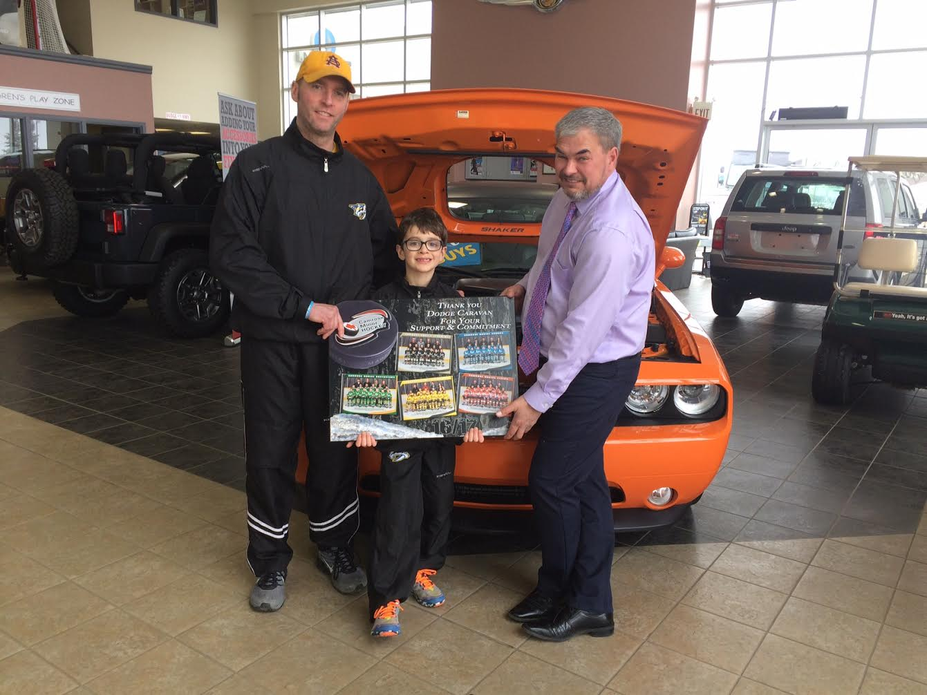 Thank you to Camrose Chrysler