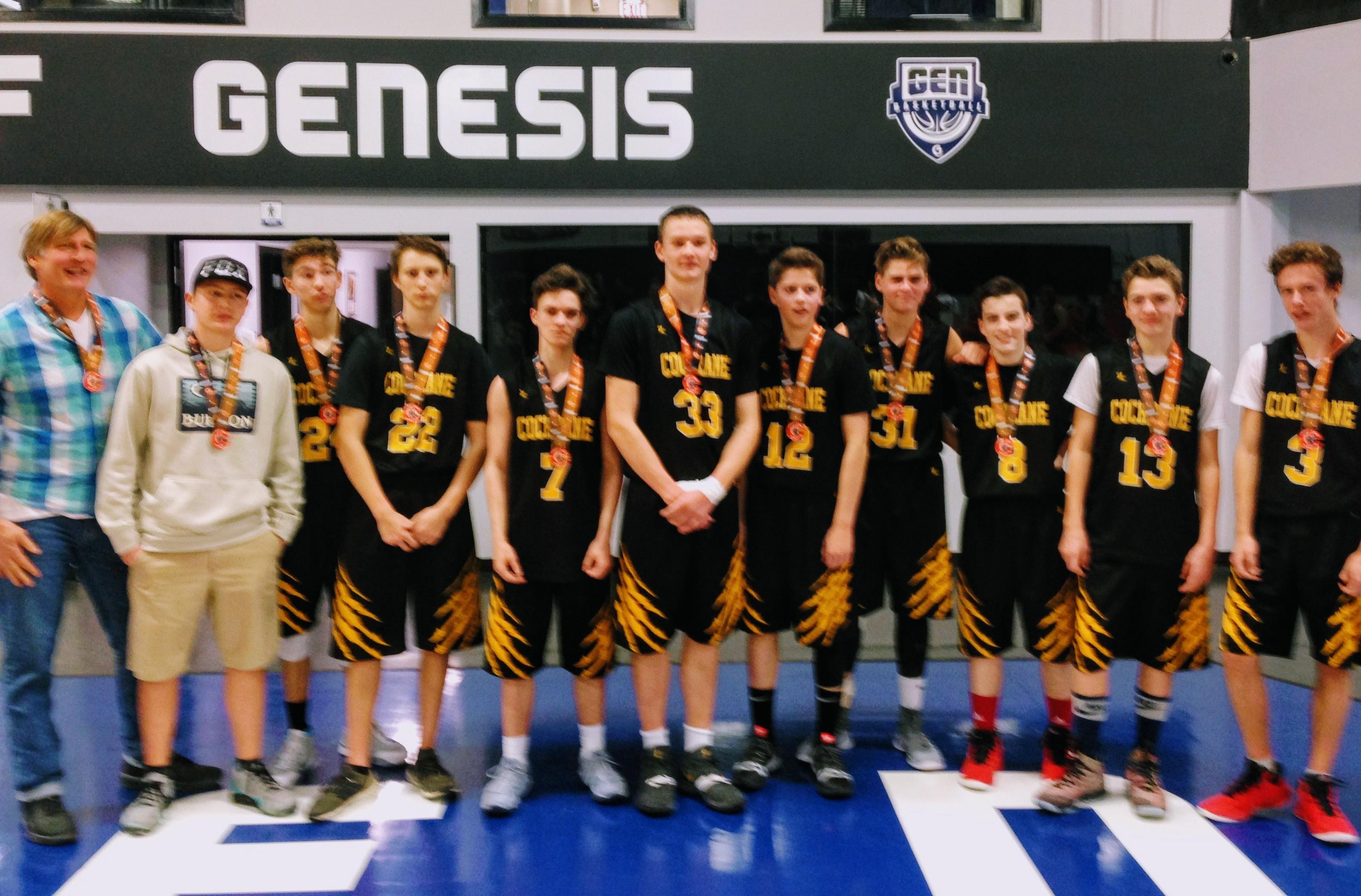 Juvenile Boys Win Div 3 Bronze