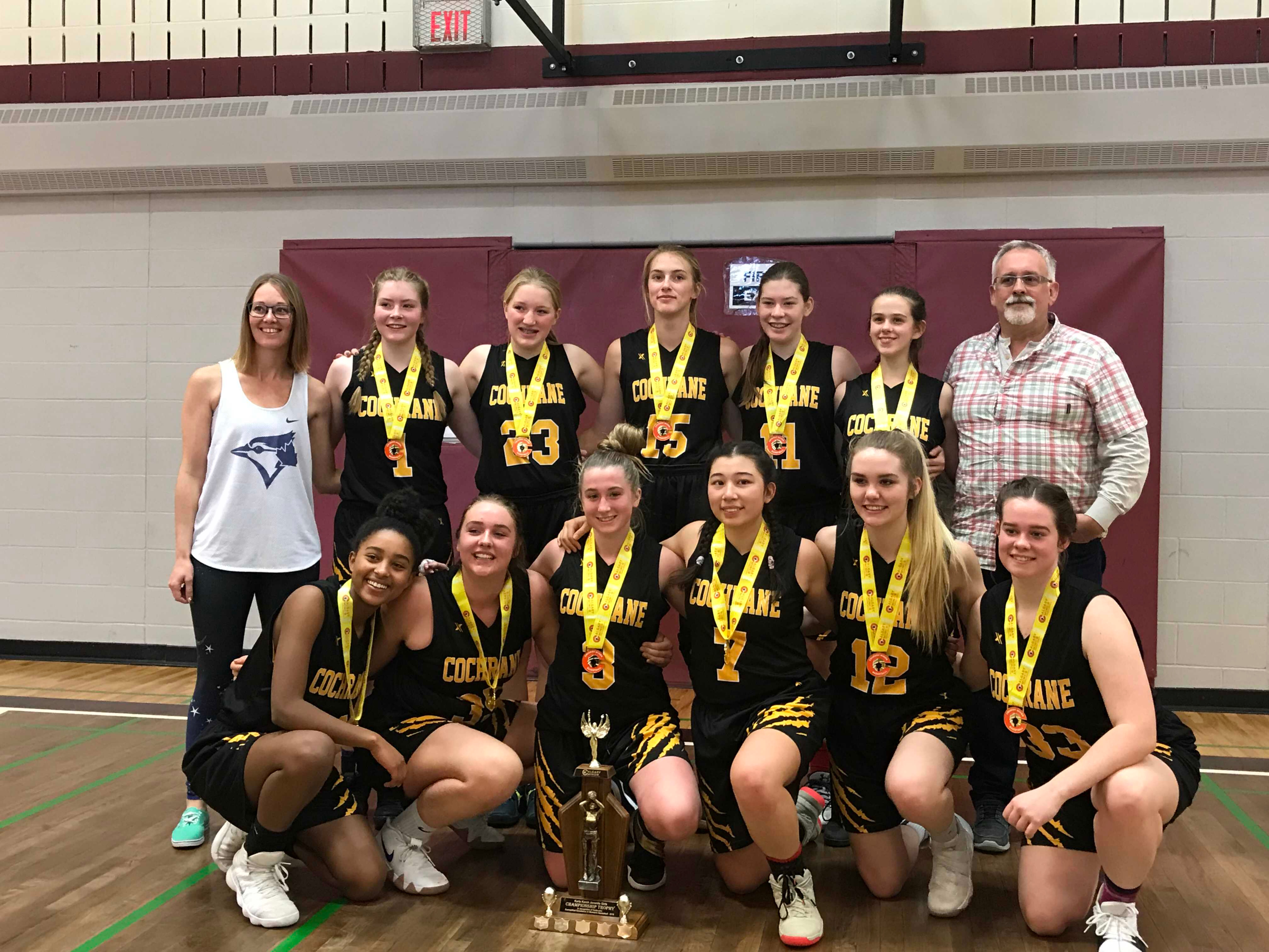 Juvenile Girls Win Division Gold