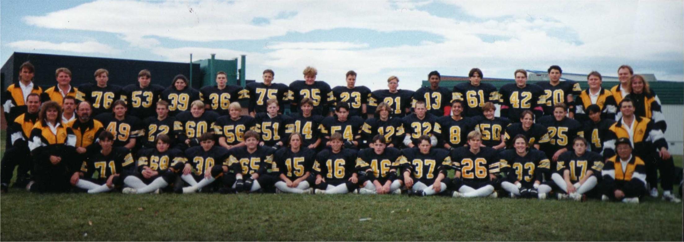 1995 Las Vegas Team
