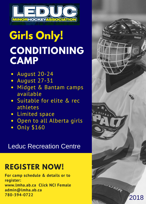 Girls Conditioning Camp