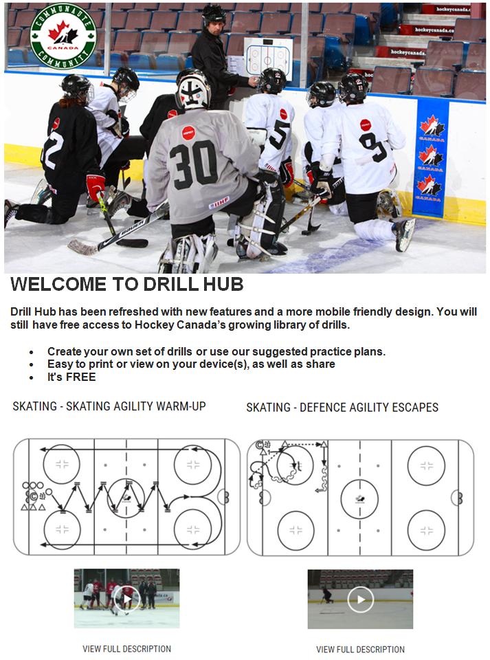 Hockey Canada DRILL HUB