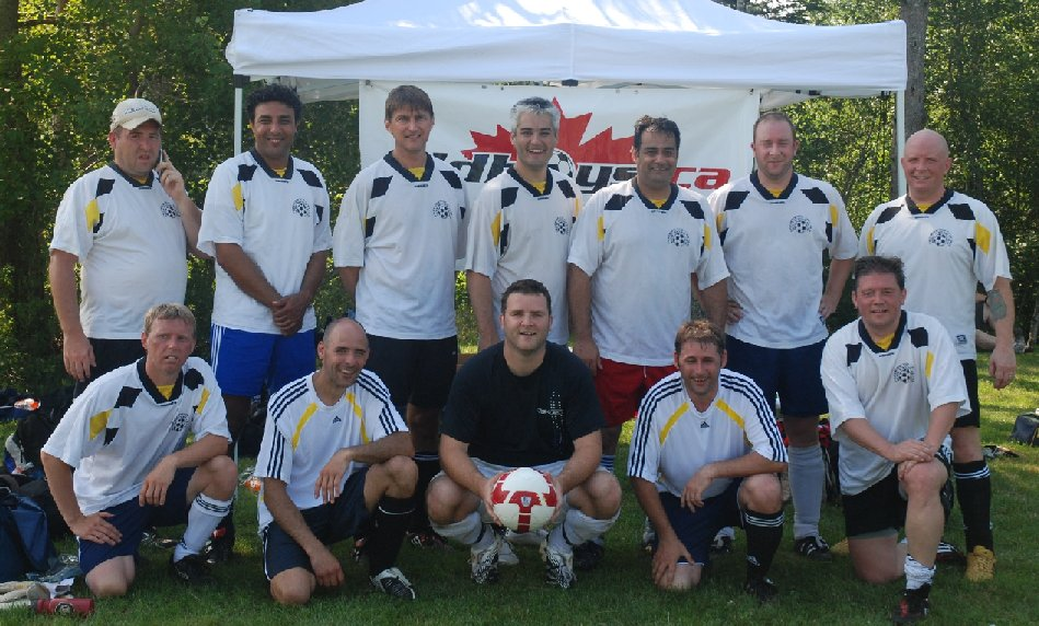 Old Boys' Soccer Club 2010 (Bridgewater Tournament Over 45's)