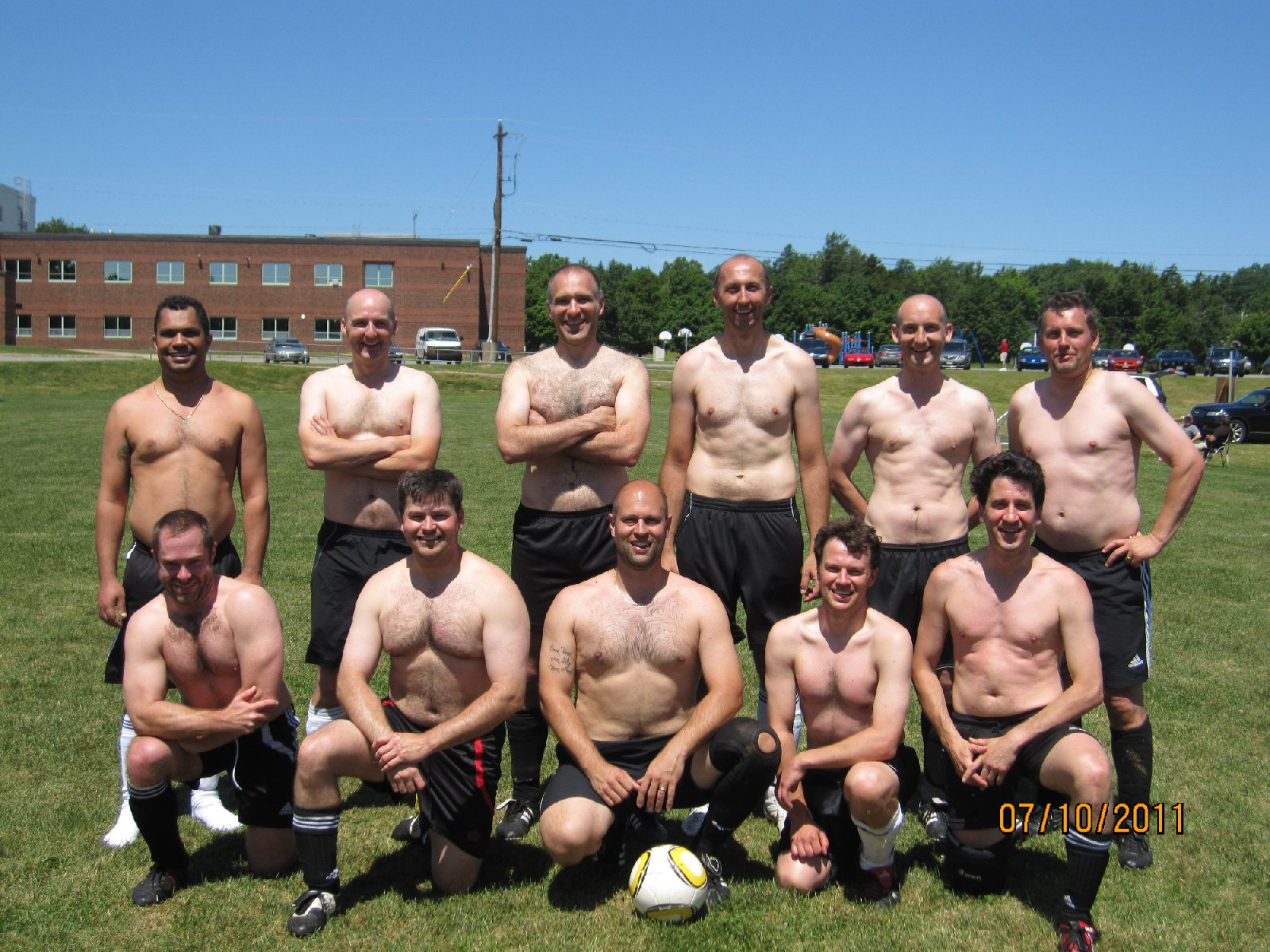 Old Boys' Soccer Club 2010 (Bridgewater Tournament Over 35's)