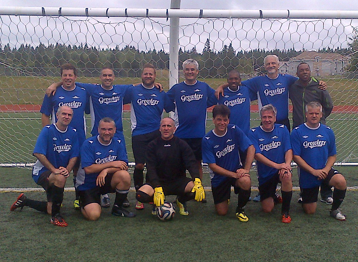 The Fredericton Old Boys Team