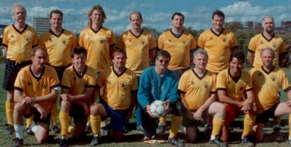 Fredericton City Old Boys' soccer Club 1994