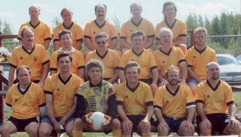 Fredericton City Old Boys' soccer Club 1996