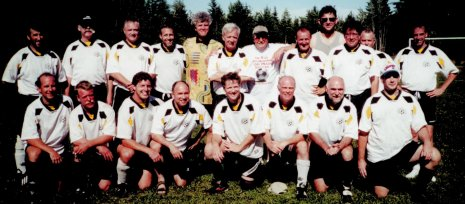 Old Boys' Soccer Club 2001 (Bridgewater Tournament)