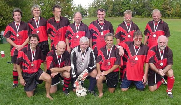 Old Boys' Red Soccer Team 2003 (Provincial Runners Up)