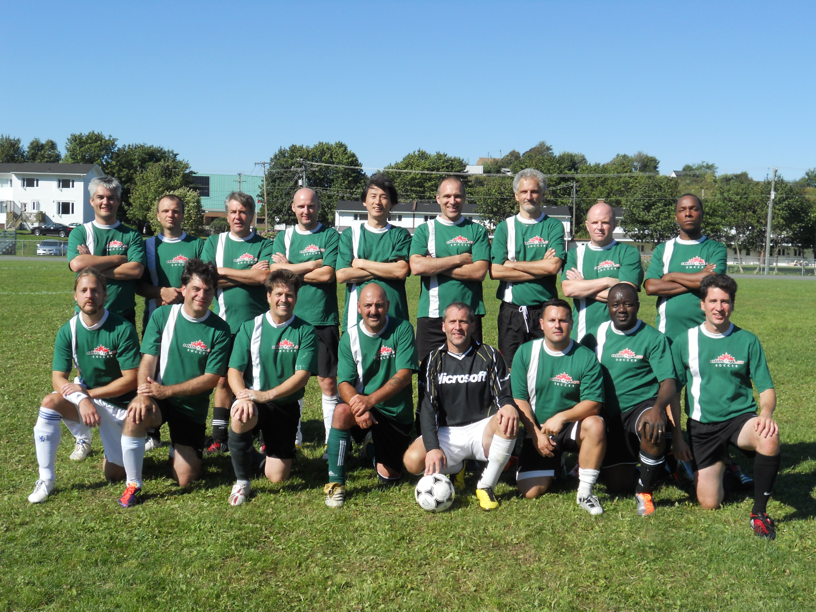 Old Boys' Soccer Club 2011 Prov Team