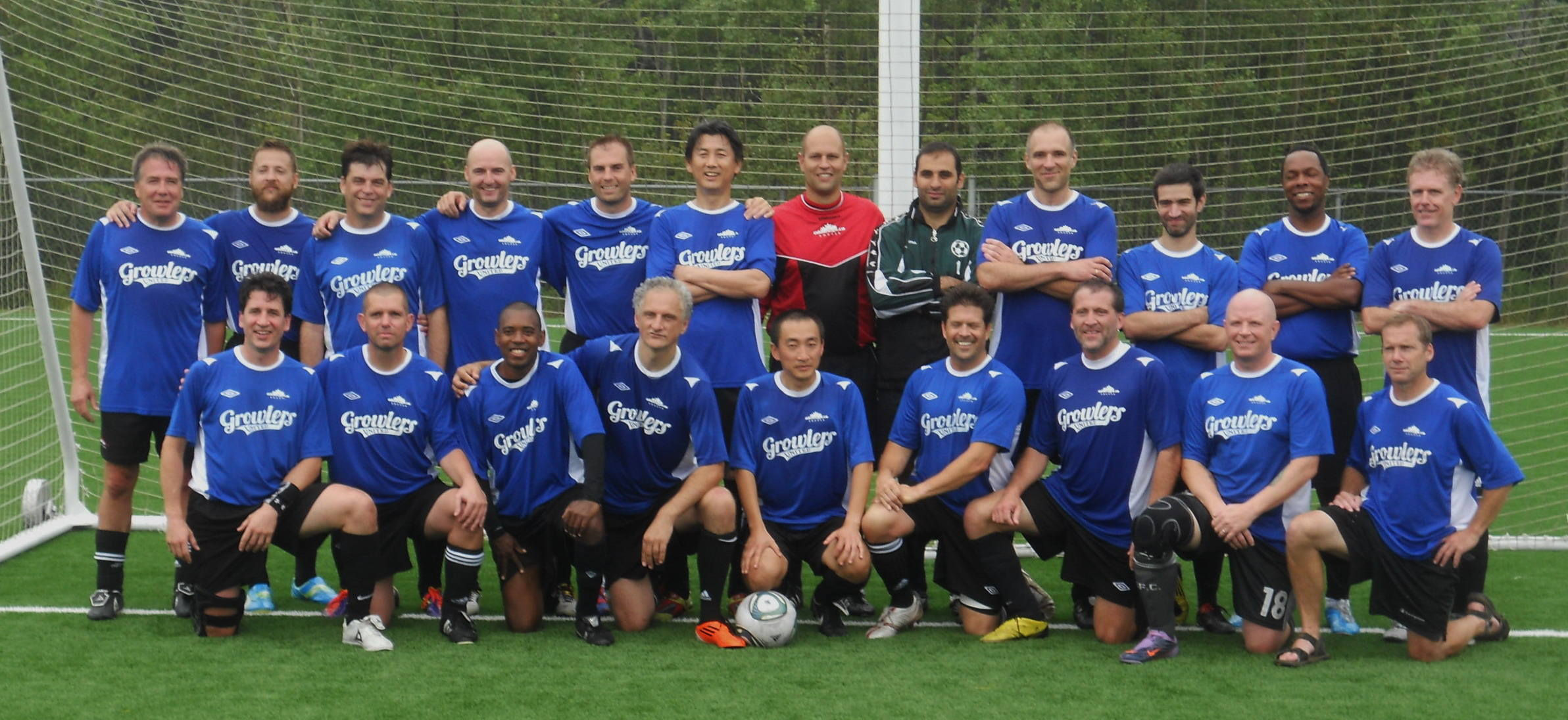 Old Boys' Soccer Club 2011 Prov Team