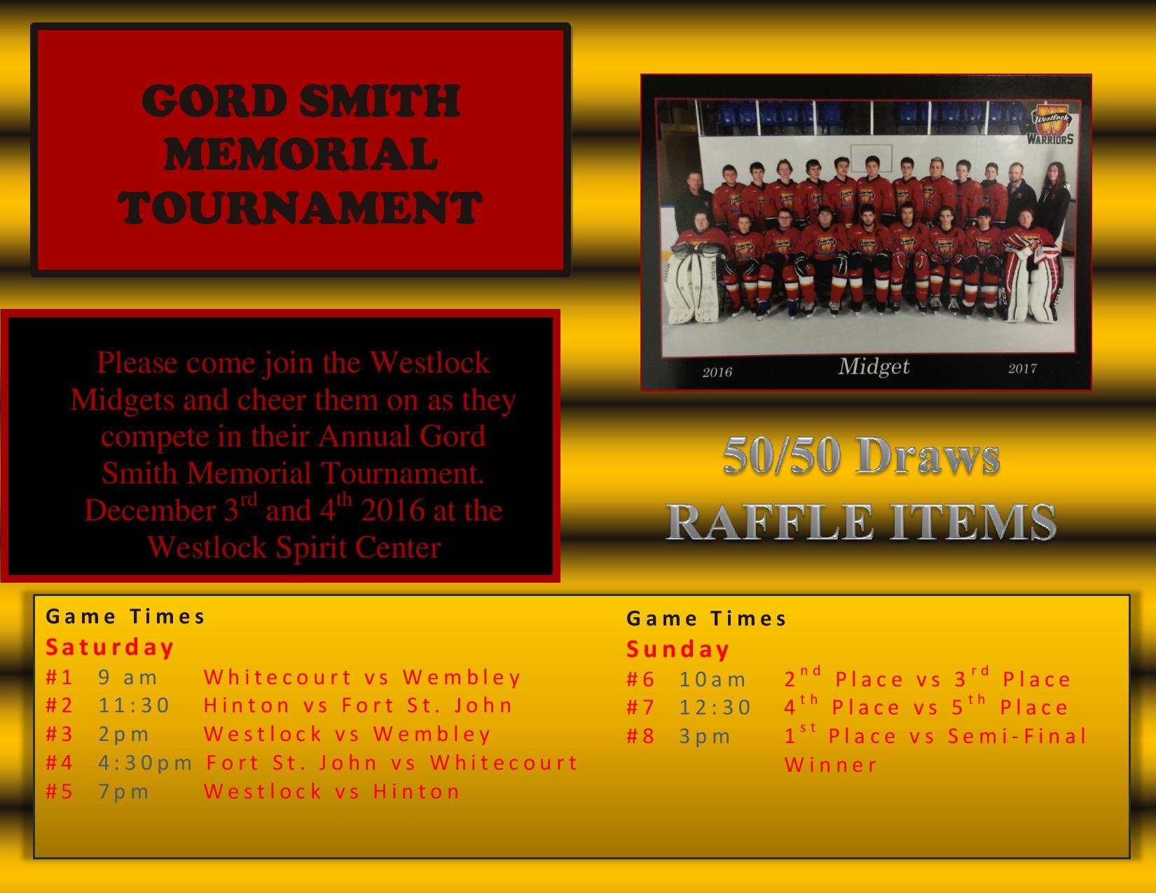 Gordon Smith Memorial Tournament