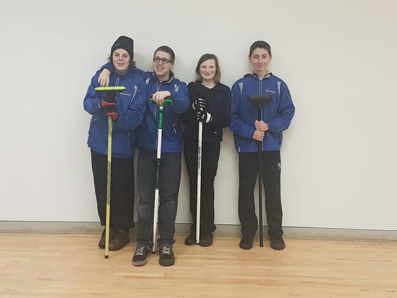Team Ryder at Warburg Junior Bonspiel
