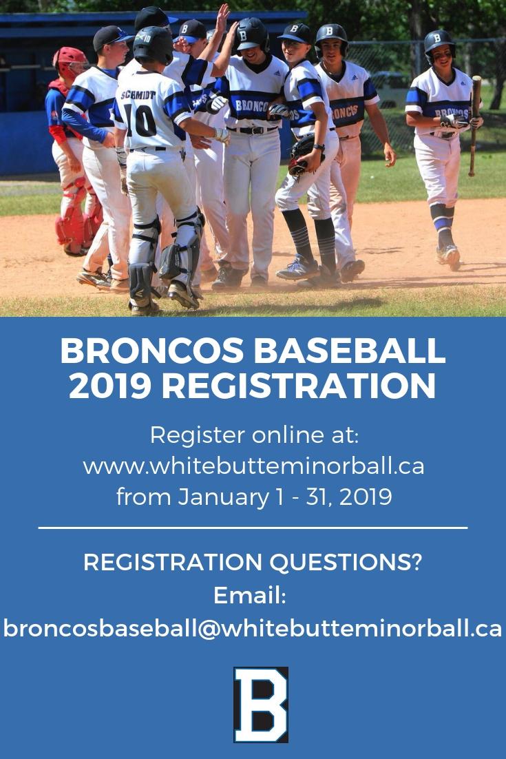 2019 Season Registration