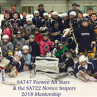 Thank you to the Novice SA722 Snipers for coming out to our mentorship practice. Great group of kids!