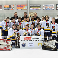 Minor Hockey Week Champs