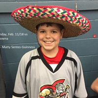 Player of the Game vs Kelowna #3 - #6 - Matty Sentes-Guinness
