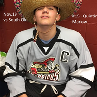 Player of the Game vs South Ok, Nov.19 - #15 Quintin Marlow