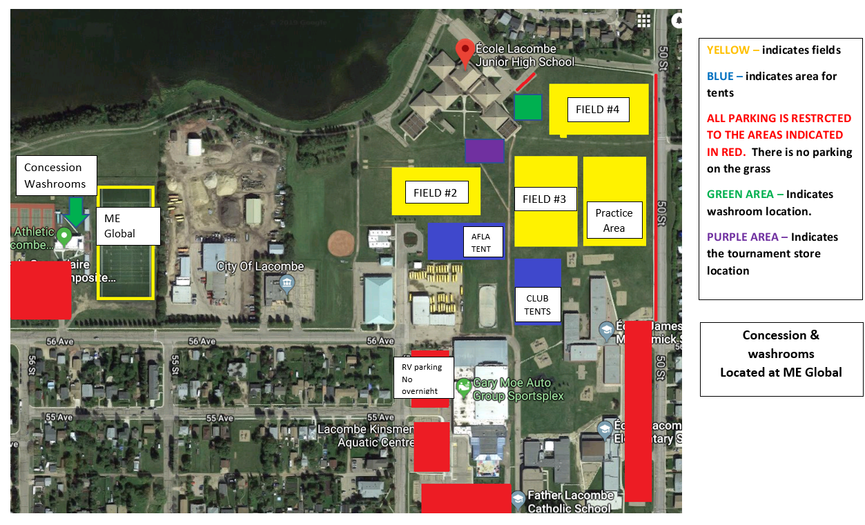 Field Day Map