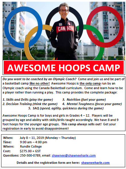 Awesome Hoops Camp