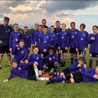 Ardrossan FC U13 Boys got 2nd over all in EMSA League.
