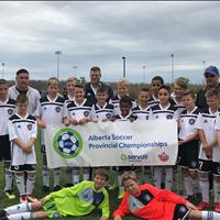 Ardrossan FC U13 Boys Bronze at Provincials