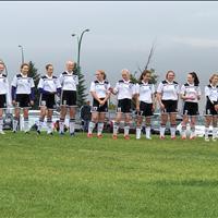 Ardrossan FC U15 Girls at Provincials got 4th over all