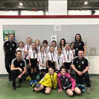 U11Girls Tier 4 EMSA City Finals won Gold