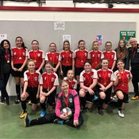 U13 Girls at FC Memorial Challenge Tournament, won Gold.