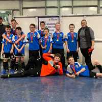 U13 Boys at FC Memorial Challenge Tournament, won Gold.