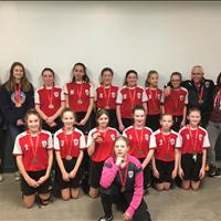 U13 Girls Tier 4 got Bronze at EMSA City Finals