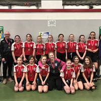 Ardrossan U13 Girls Tier 4 got GOLD from Slush Cup Tournament