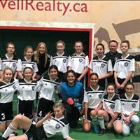 Ardrossan FC U15 Girls at FC Memorial Challenge.