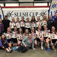 Ardrossan FC U17 Girls, GOLD from Slush Cup Tournament