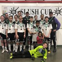 Ardrossan FC U15 Boys got Bronze from Slush Cup Tournament