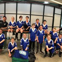 Ardrossan U11 Boys Tier 5 Got 4th place in Slush Cup Tournament