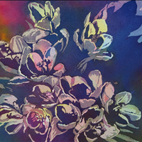 Stunning, Watercolor, Paints n Bloom Art Show and Sale  Nov 22-24  10 am-4, Gardenworks at Mandeville, 4746 Marine Dr, Burnaby