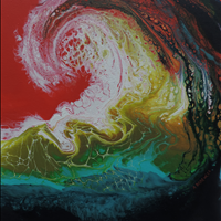 Churning, Paints n Bloom Art Show and Sale, May 1-3 10am-4, May 4  9am-12, Gardenworks at Mandeville 4746 Marine Dr  Burnaby
