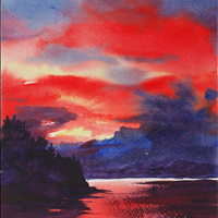 Beginner Watercolor Class, Nov 20  10am-12:00, Gardenworks at Mandeville, 4746 Marine Dr, Burnaby  Class is full, thank you