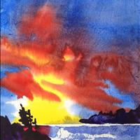 Beginner Watercolor Class, Arpr 30  10am-12:00, Gardenworks at Mandeville, 4746 Marine Dr, Burnaby  $40 register 604 314 2232
