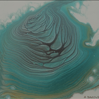 Whirlpool, Acrylic, 8x10