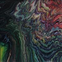 Lava Fiery, Acrylic, 12x12