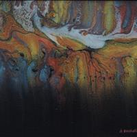 Shifting Dunes, Acrylic