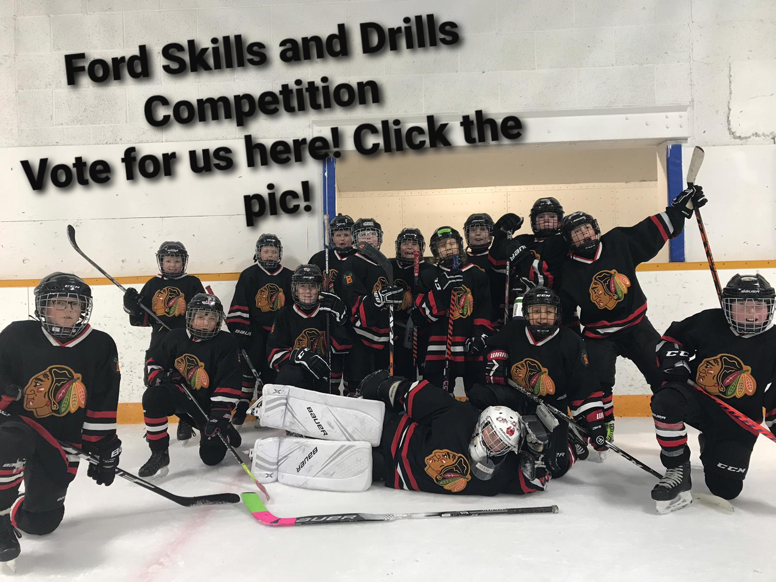 Vote for Beaumont Braves Atom 3x in the Ford Skills and Drills Competition by following this link: