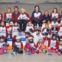 March 2014- This was the entire association of Barrie Ringette in year 1 2013 - 2014
