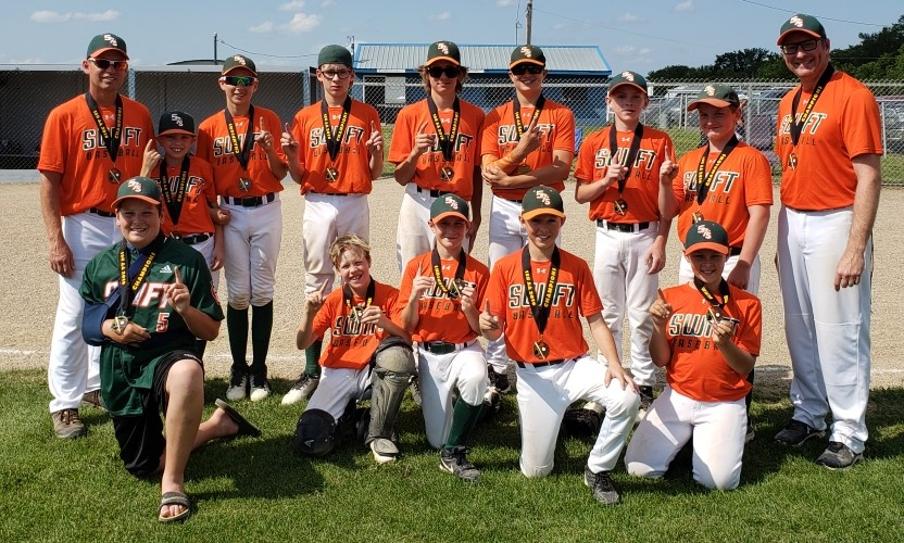 2019 13U AA Champions Swift Current 57's