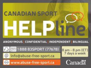 Canada Sport Helpline