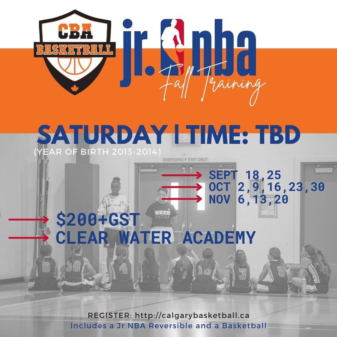 Jr NBA Training